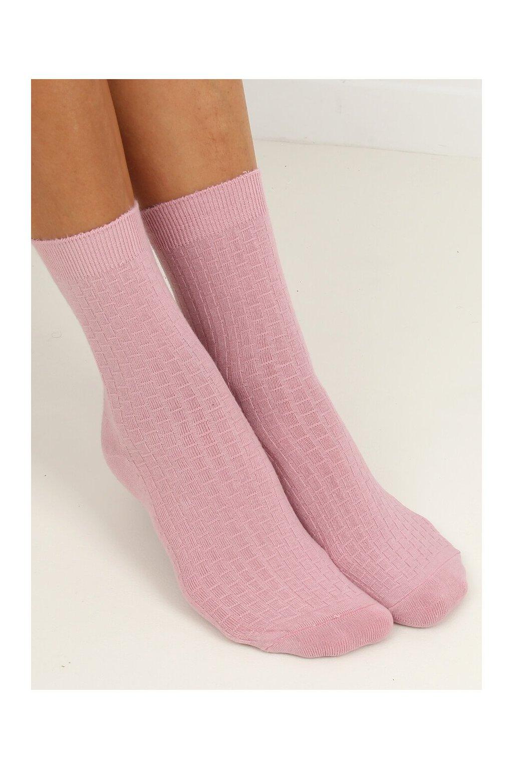 Damske ponožky ružové SK-N8808