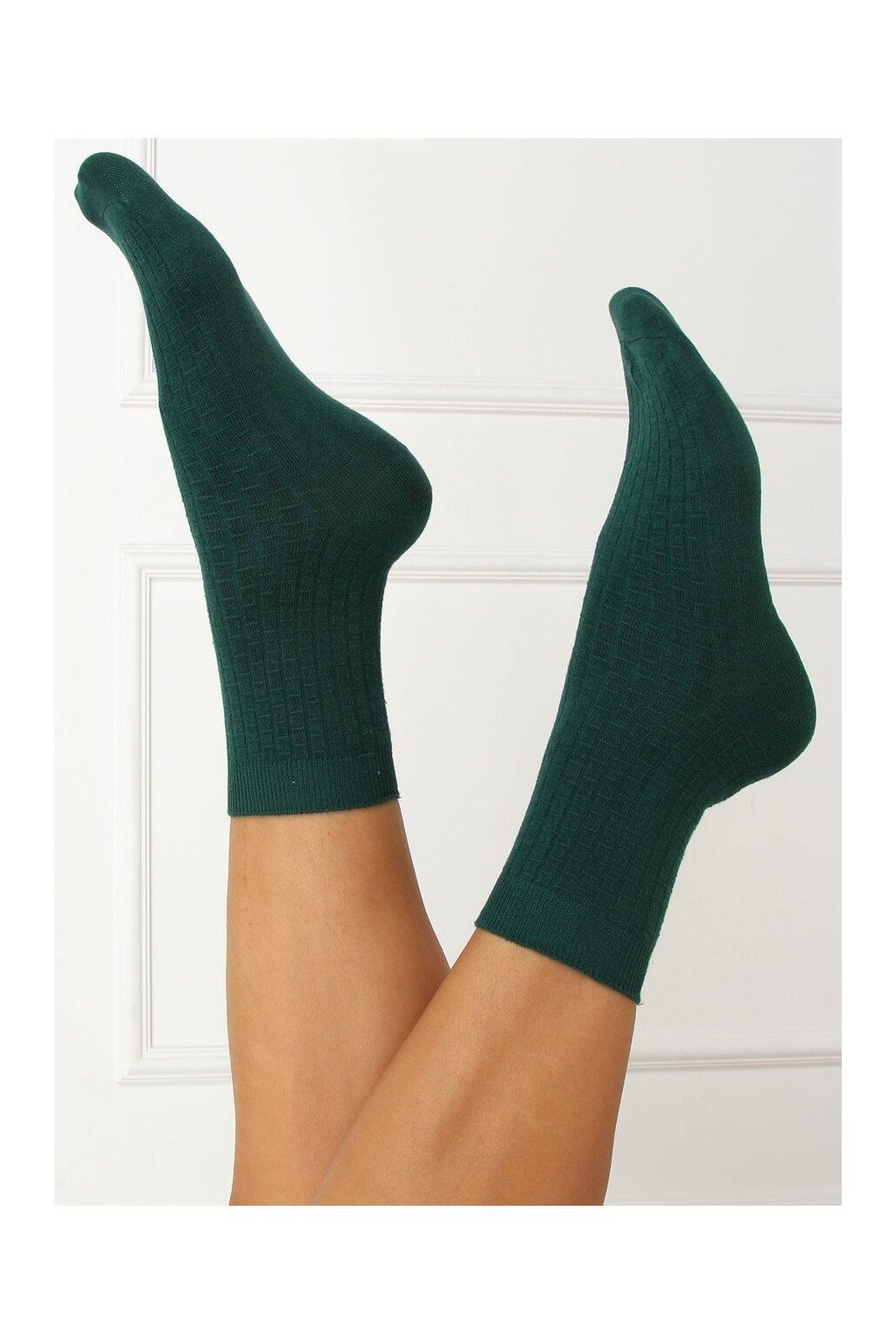 Damske ponožky zelené SK-N8808