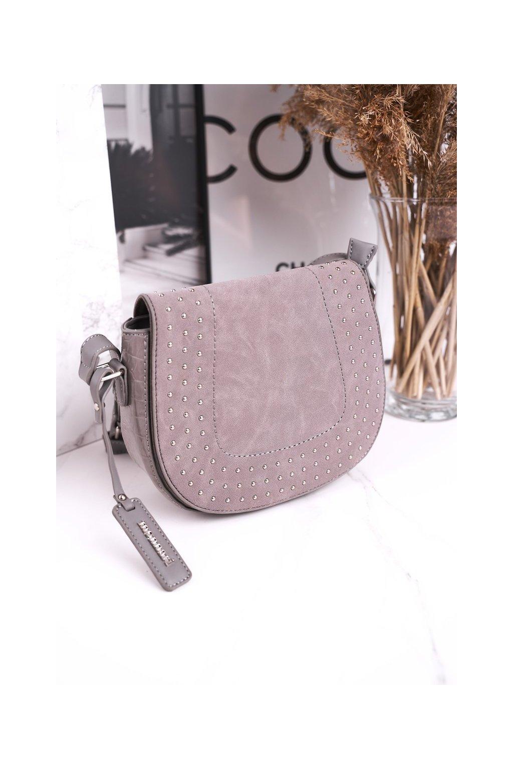 Dámska kabelka sivá kód kabelky BAG4250-019 SZARYZAMSZ