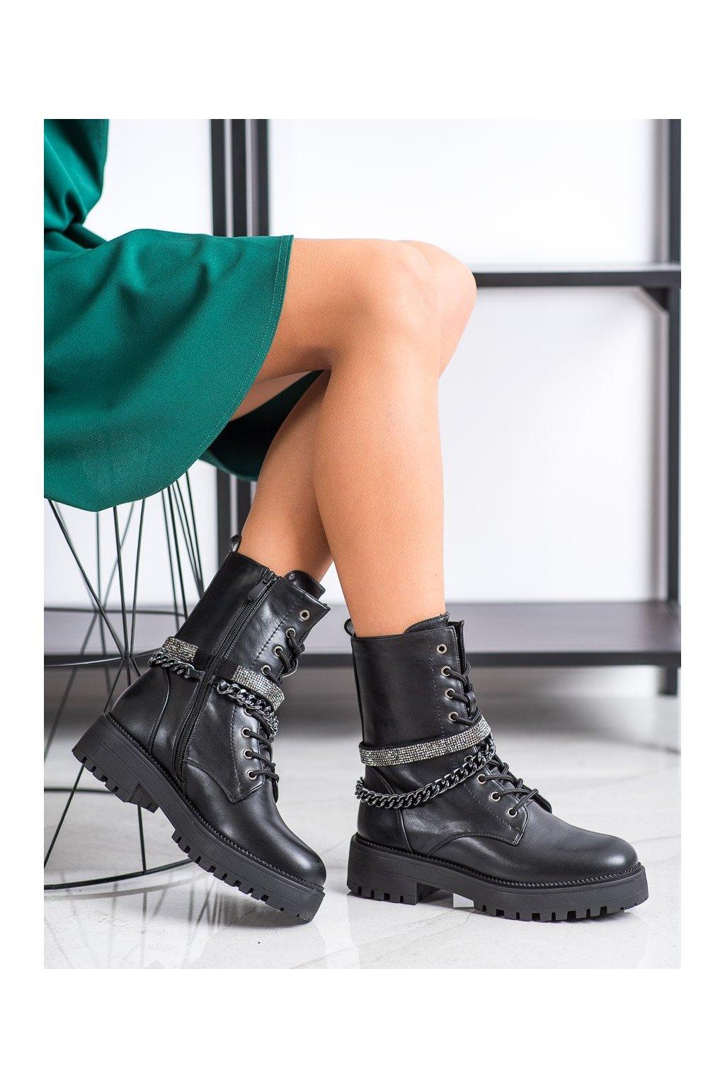 Čierne dámske topánky Seastar kod NS181BPU