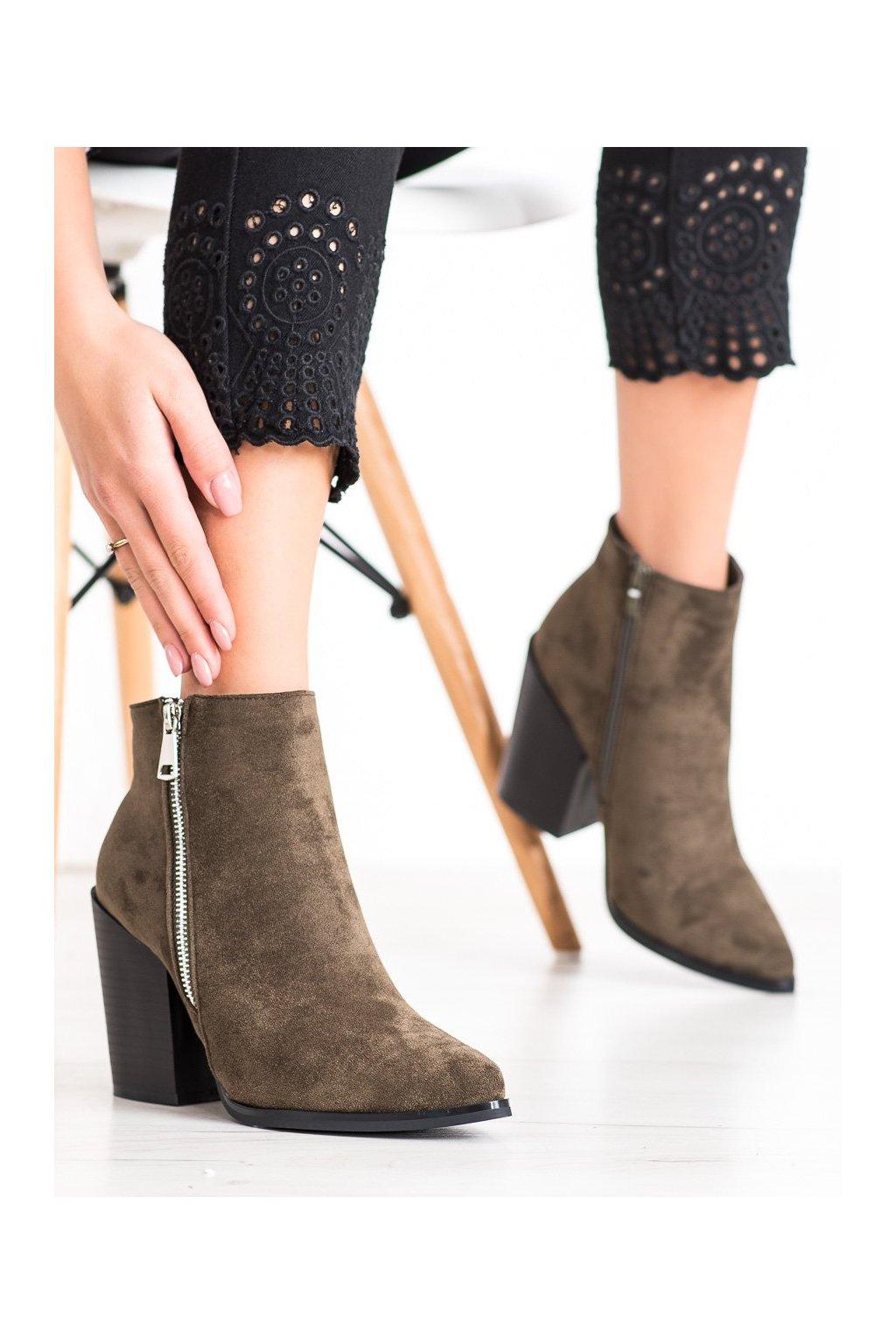 Zelené dámske topánky Marquiz kod TX-1873D.GR