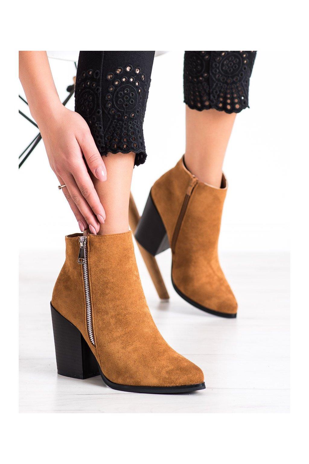 Hnedé dámske topánky Marquiz kod TX-1873C