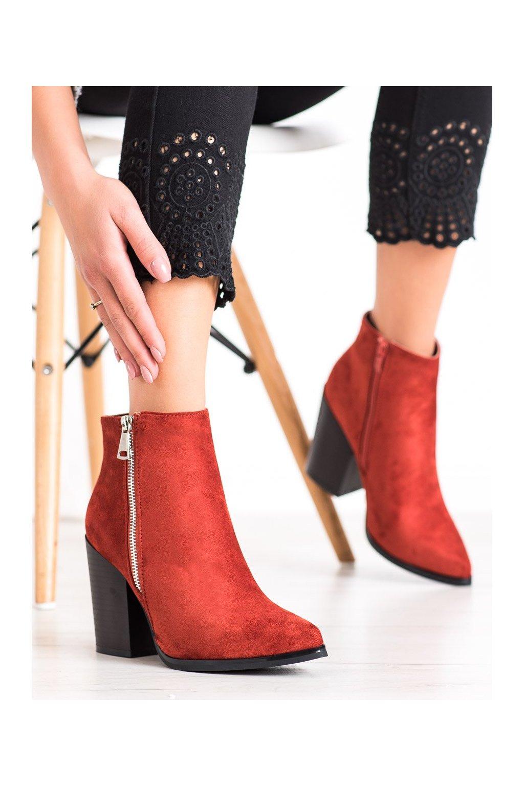 Oranžové dámske topánky Marquiz kod TX-1873OR