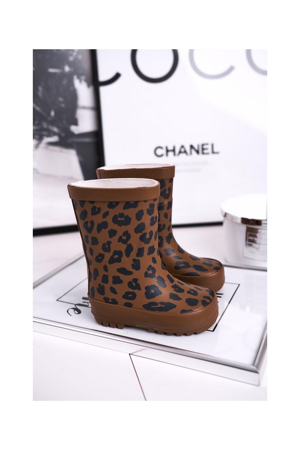 Hnedá obuv kód topánok 402-A CAMEL