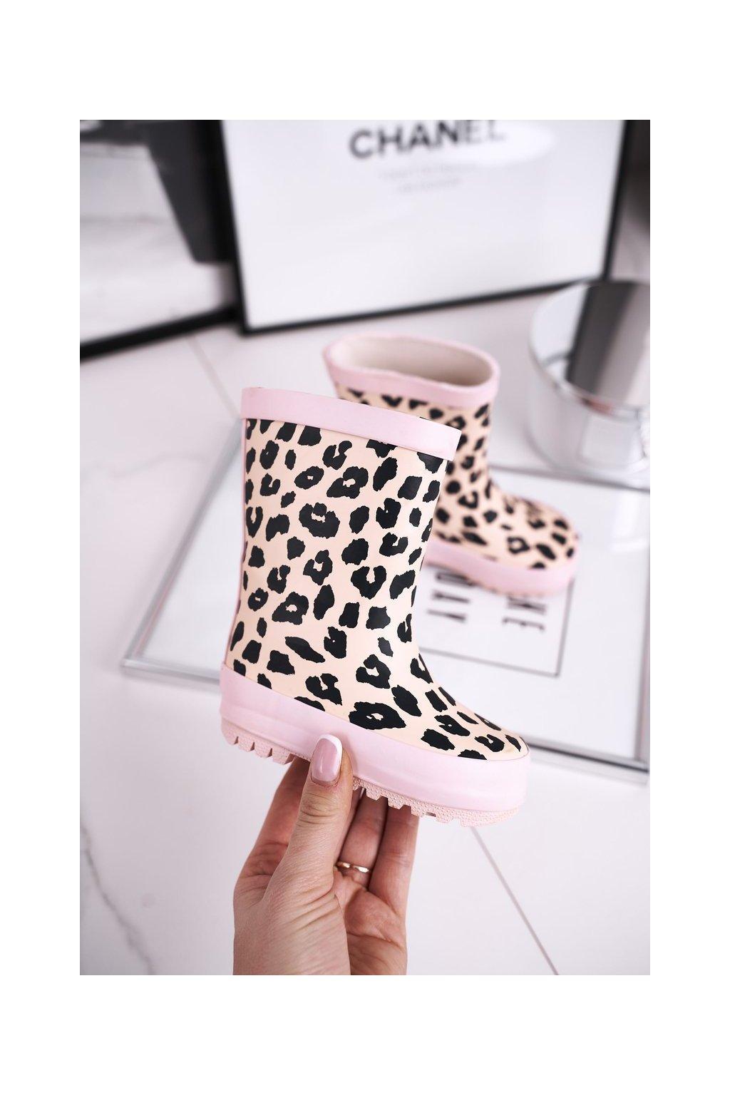 Ružová obuv kód topánok 402-B PINK