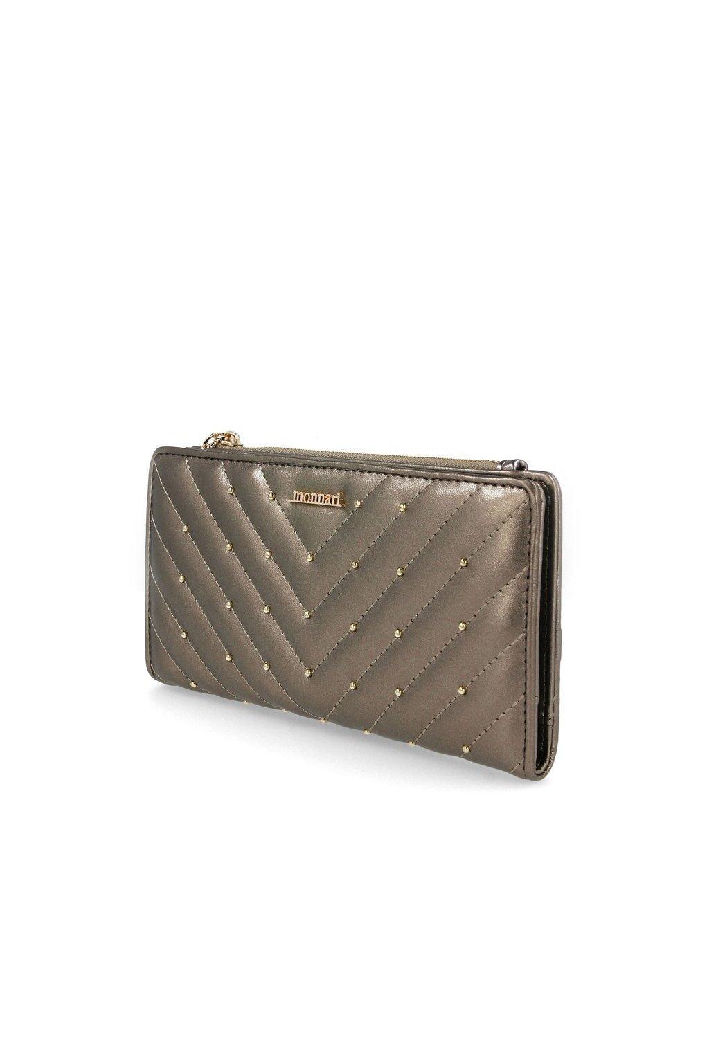 Peňaženka farba sivá kód PUR0010-019