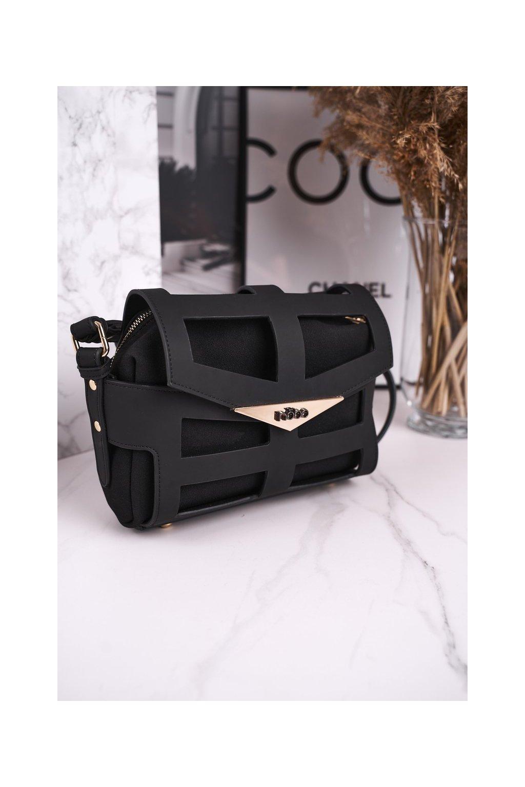 Dámska listová kabelka čierna kód kabelky NBAG-H4201-C020 BLK