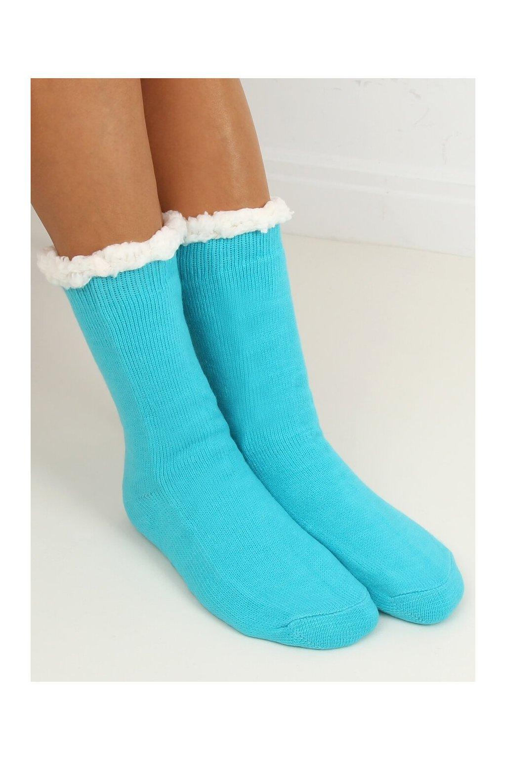 Damske ponožky modré DN012