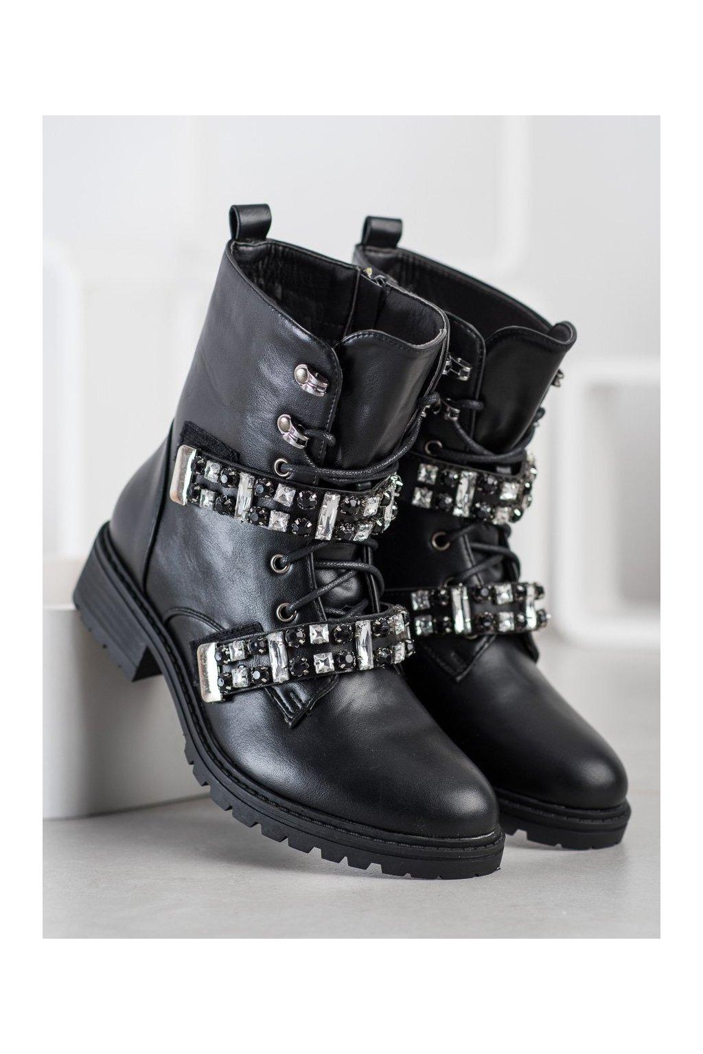 Čierne dámske topánky Seastar kod NC890B