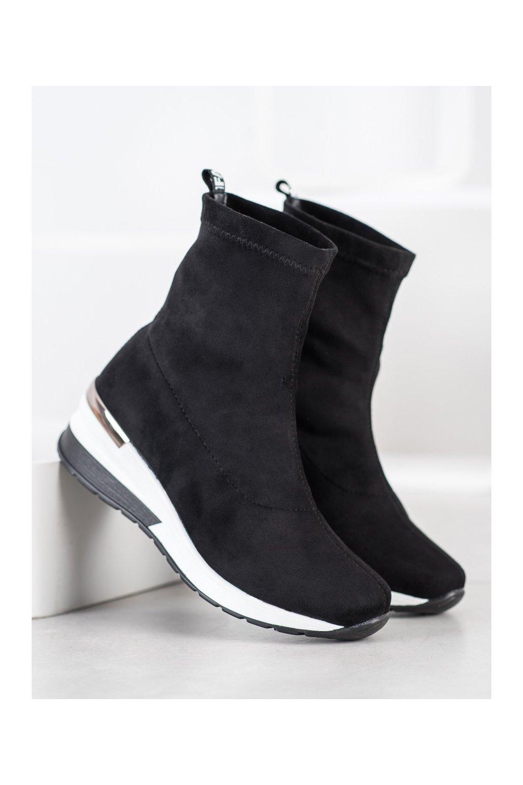 Čierne dámske topánky Filippo kod DBT1688/20B