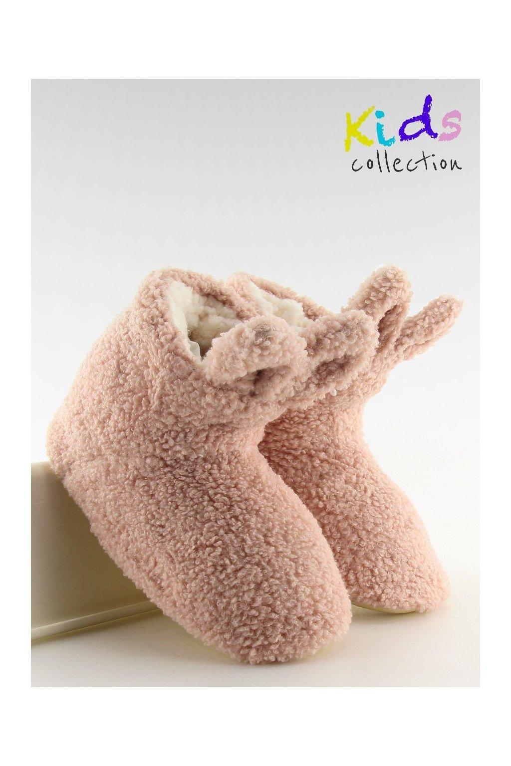 Detská obuv ružové NJSK GM902