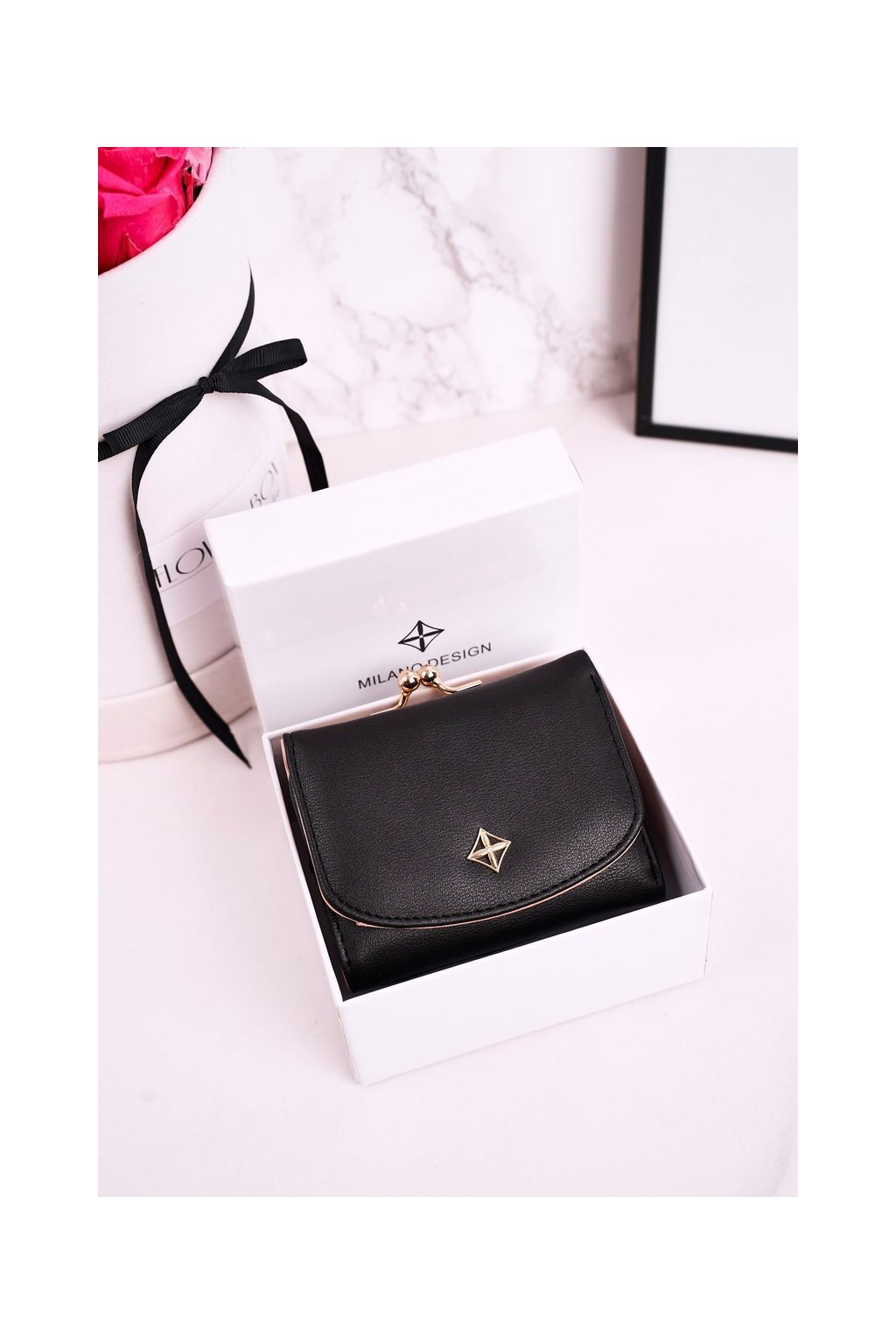 Peňaženka farba čierna kód SF1852-FT BLACK