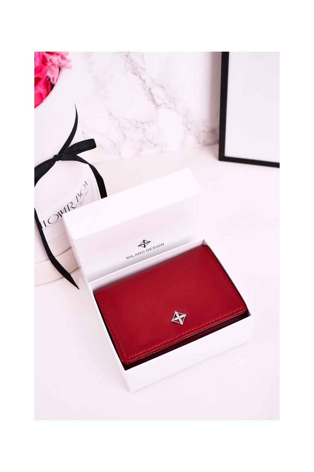 Peňaženka farba červená kód SF1857-YD RED