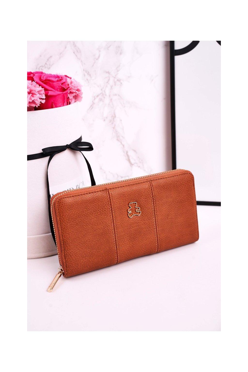Peňaženka farba hnedá kód A20082 CAMEL