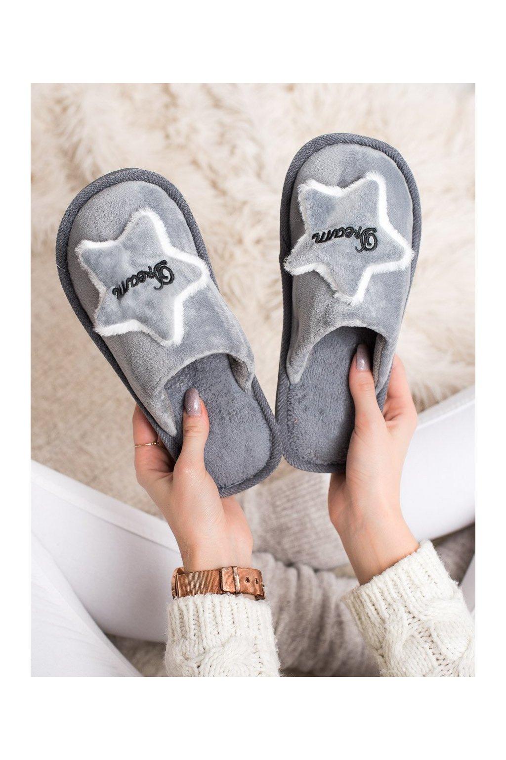 Sivé dámska obuv na doma Bona kod CJ-1G