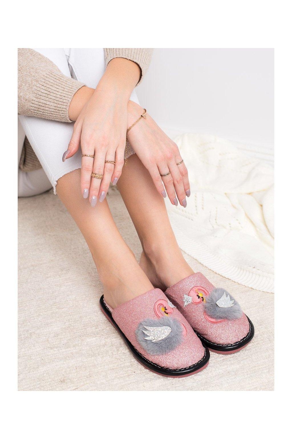 Ružové dámska obuv na doma Bona kod WG-213P