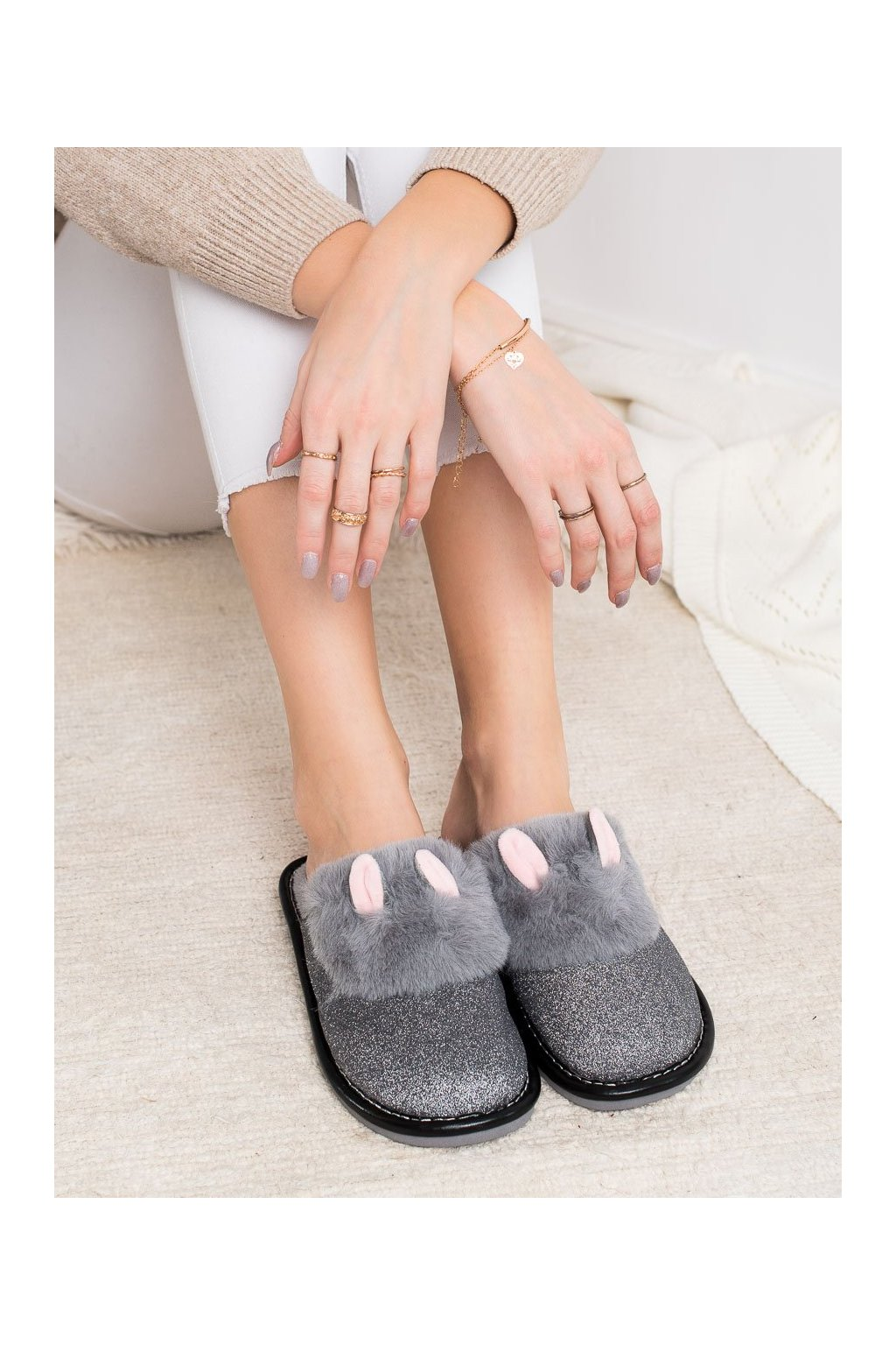 Sivé dámska obuv na doma Bona kod WG-212G