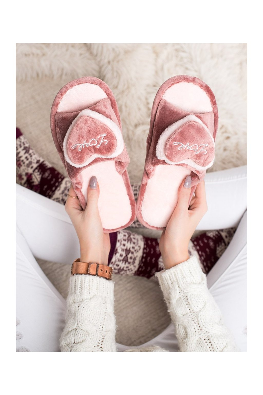 Ružové dámska obuv na doma Bona kod WG-201BE