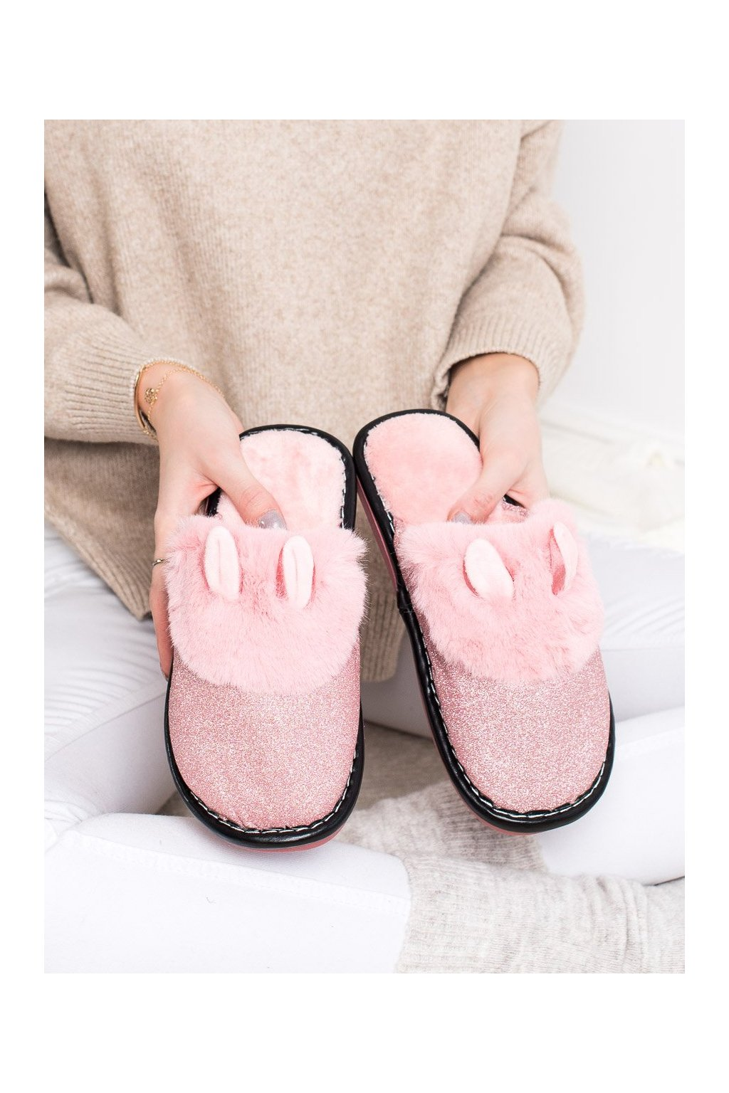 Ružové dámska obuv na doma Bona kod WG-212P