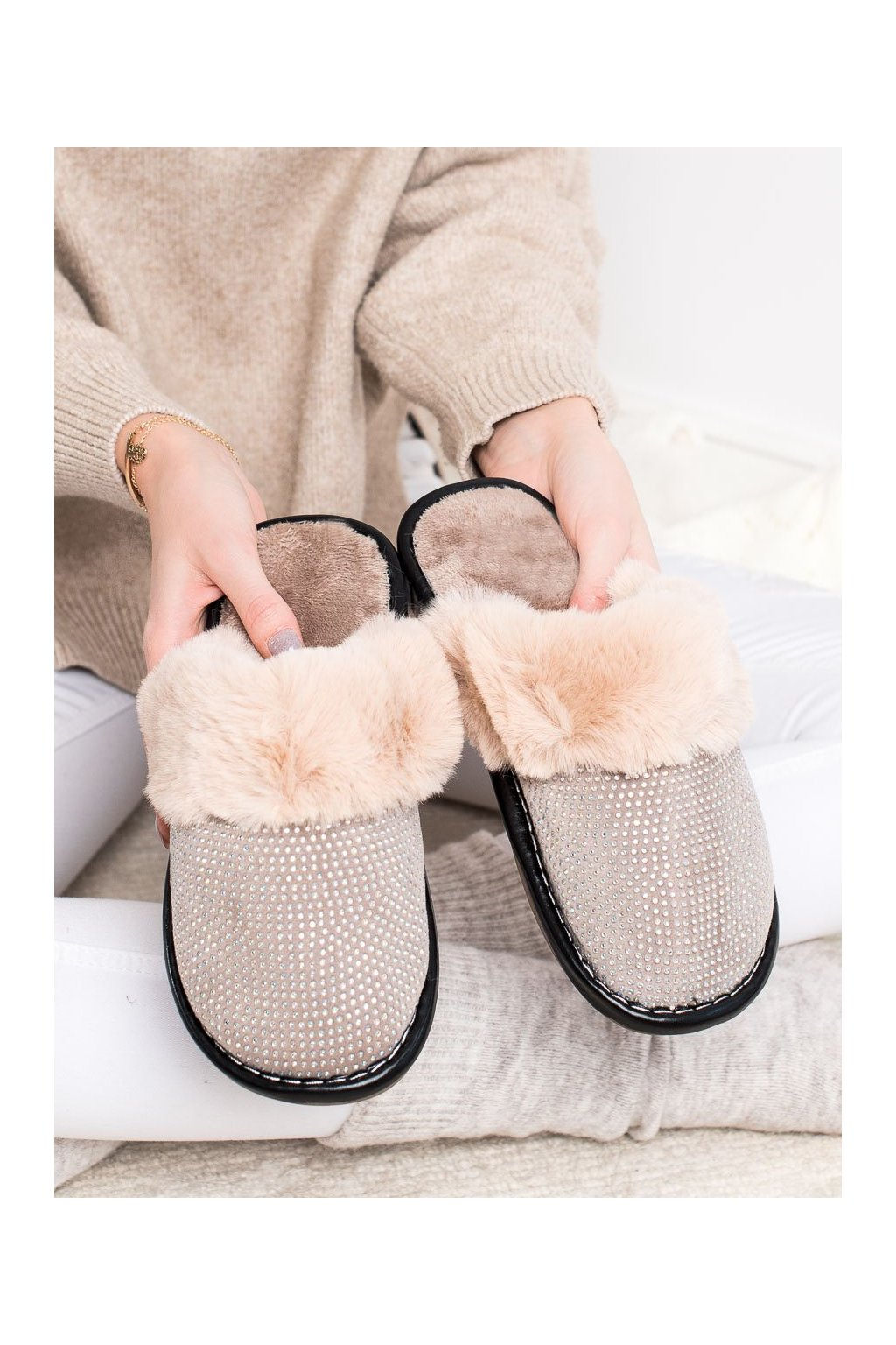 Hnedé dámska obuv na doma Bona kod WG-215KH