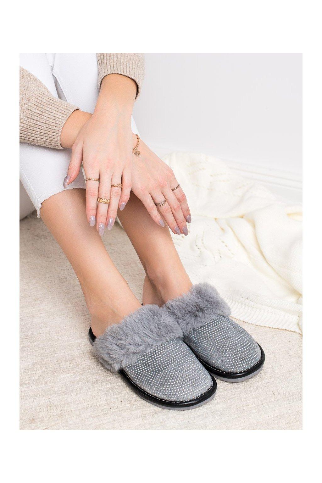 Sivé dámska obuv na doma Bona kod WG-215G