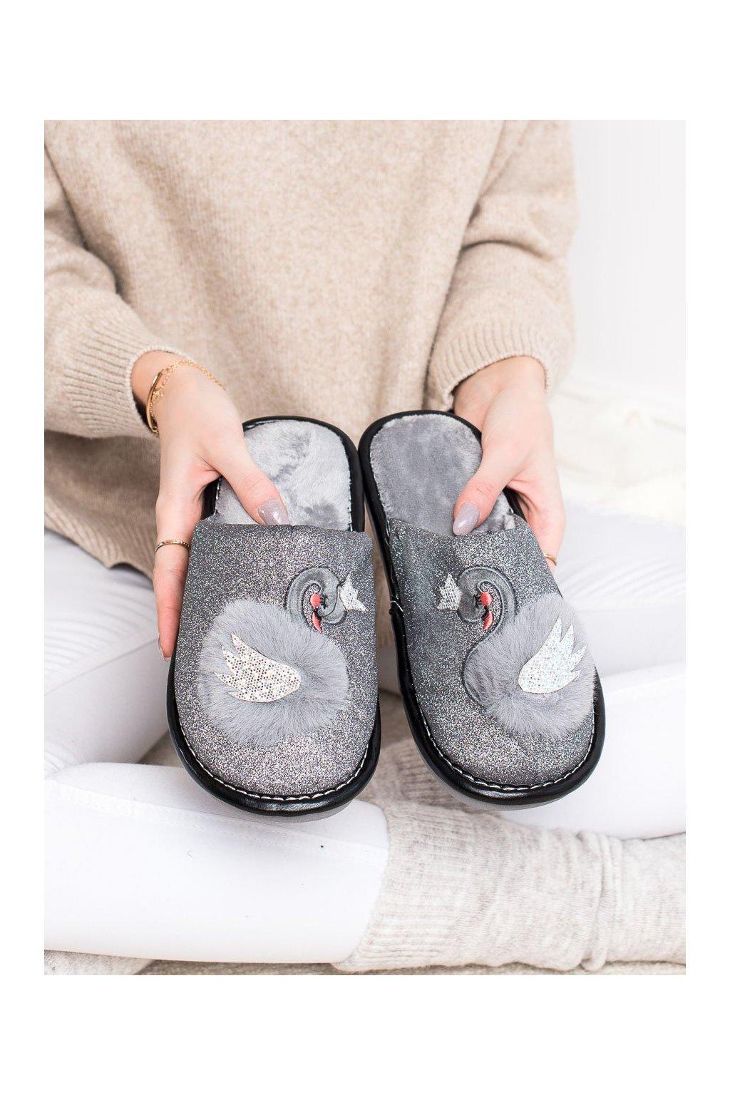 Sivé dámska obuv na doma Bona kod WG-213G