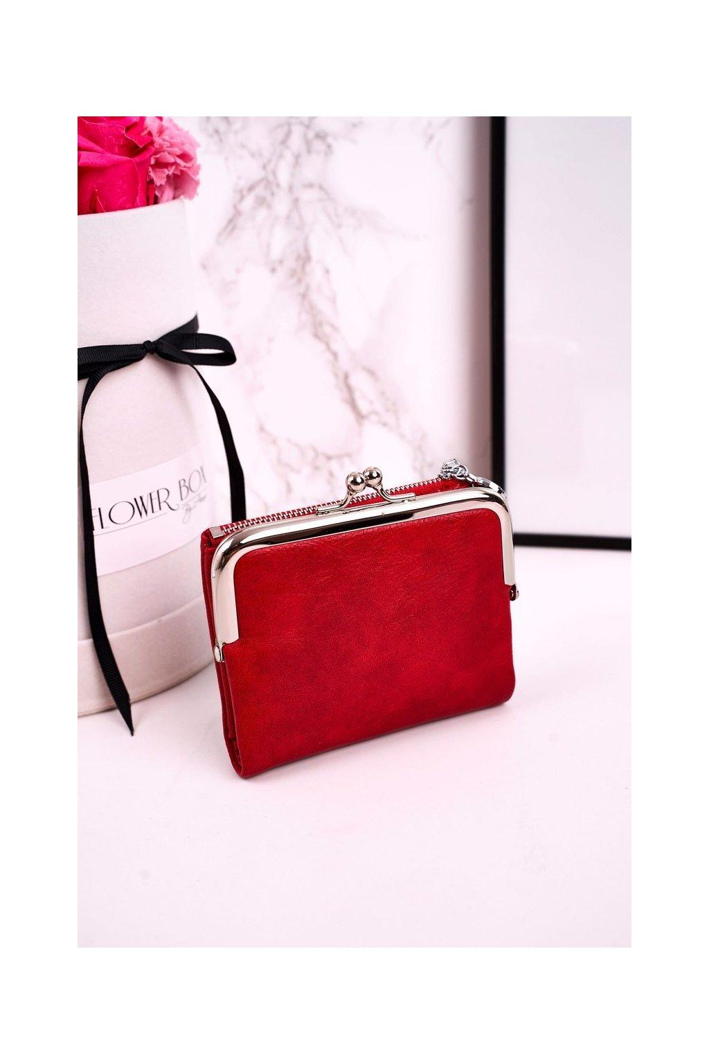 Peňaženka farba červená kód L-507 CZERWONY