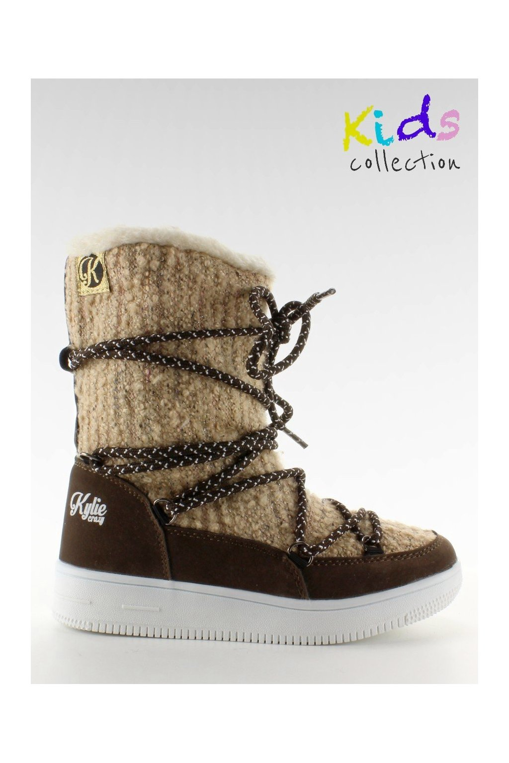 Detská obuv hnedé K1646102