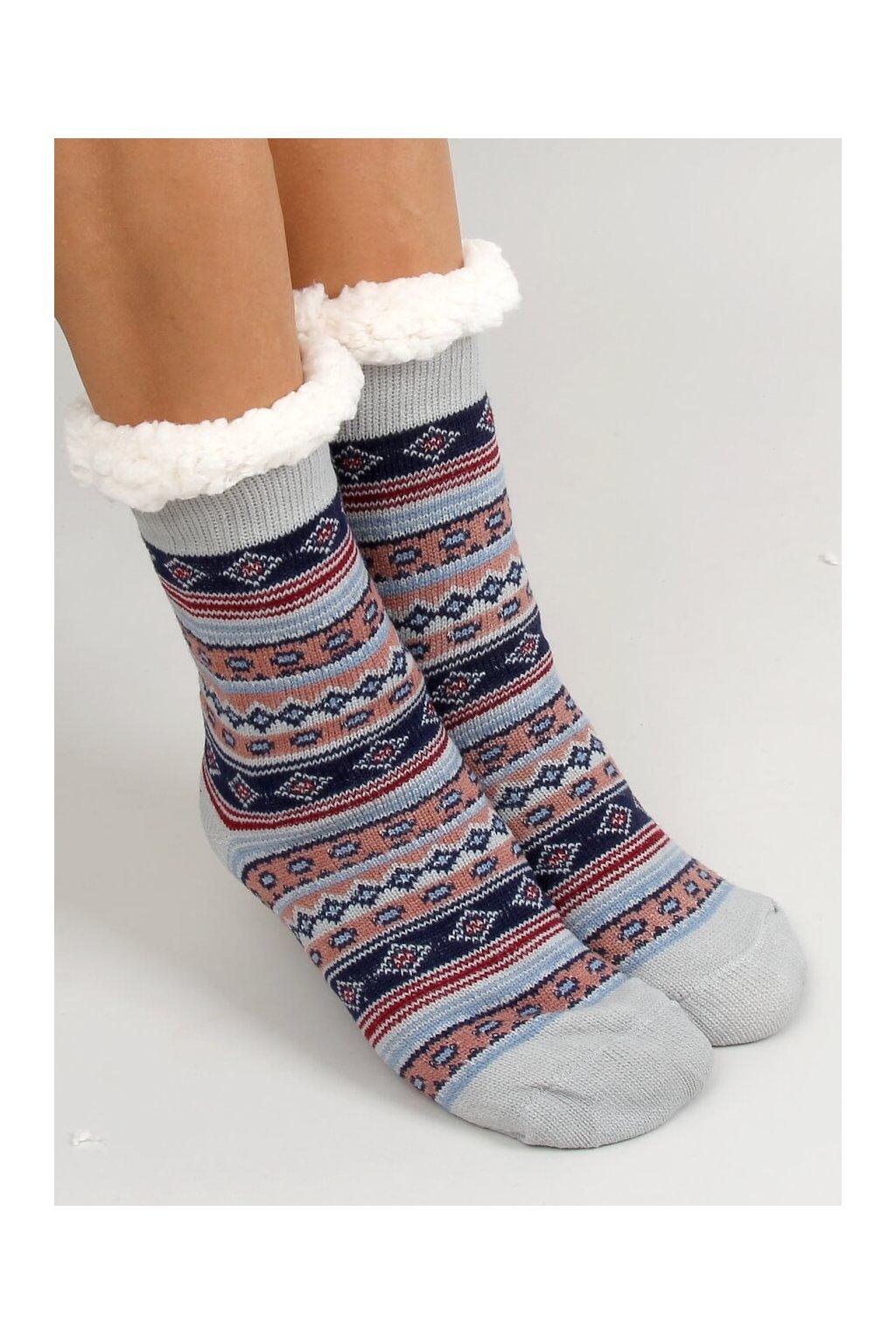 Damske ponožky viacfarebné YW806
