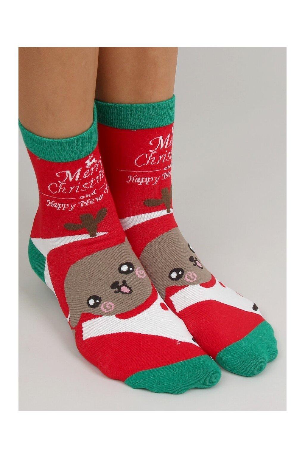 Damske ponožky viacfarebné SK-SNP6618