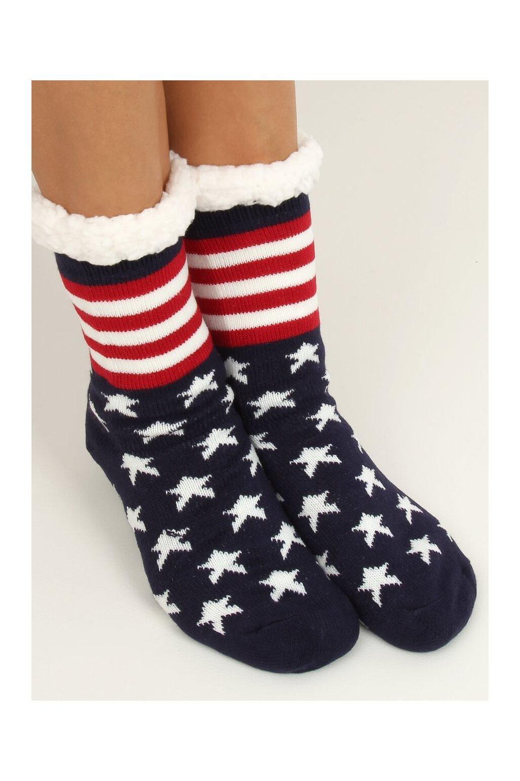 Damske ponožky viacfarebné DN014
