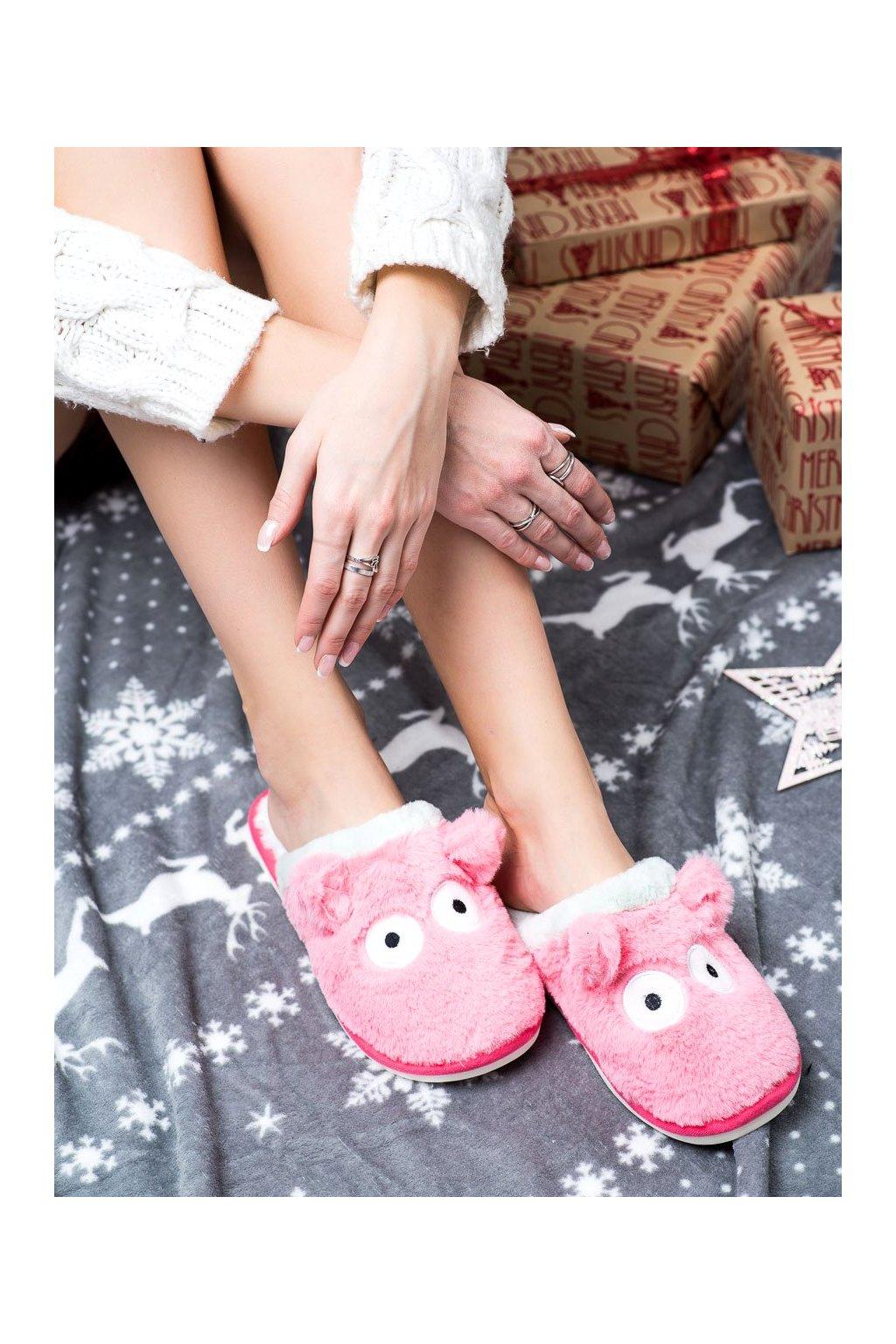 Ružové dámska obuv na doma Bona kod CF66WA/BL