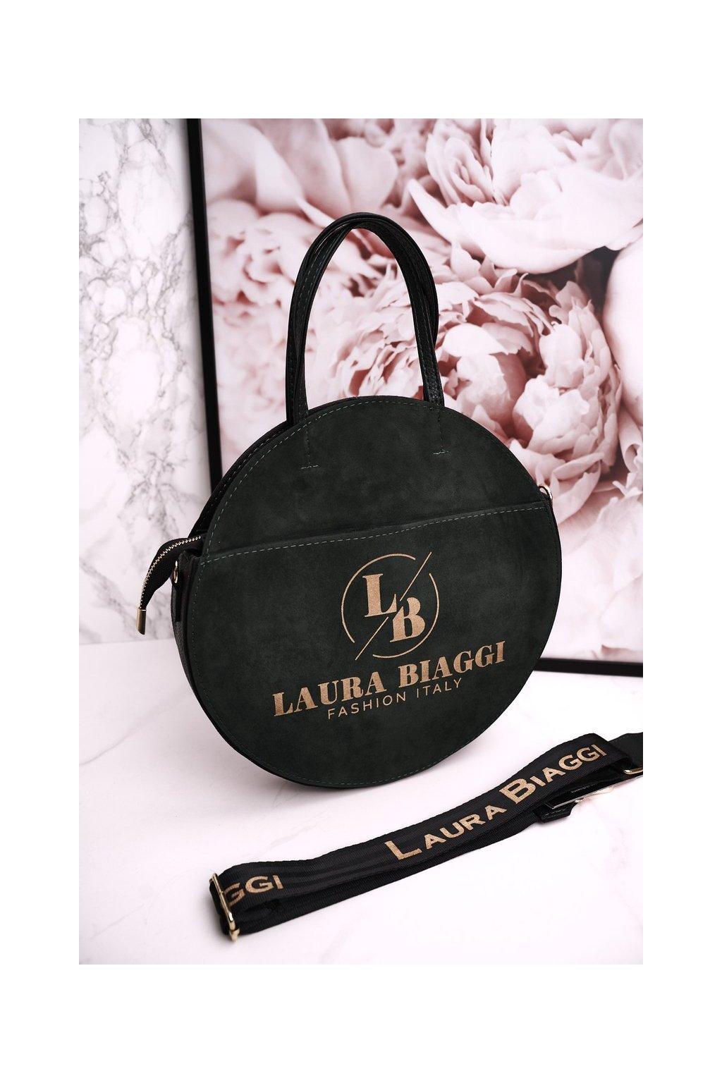 Dámska listová kabelka zelená kód kabelky 218 GREEN