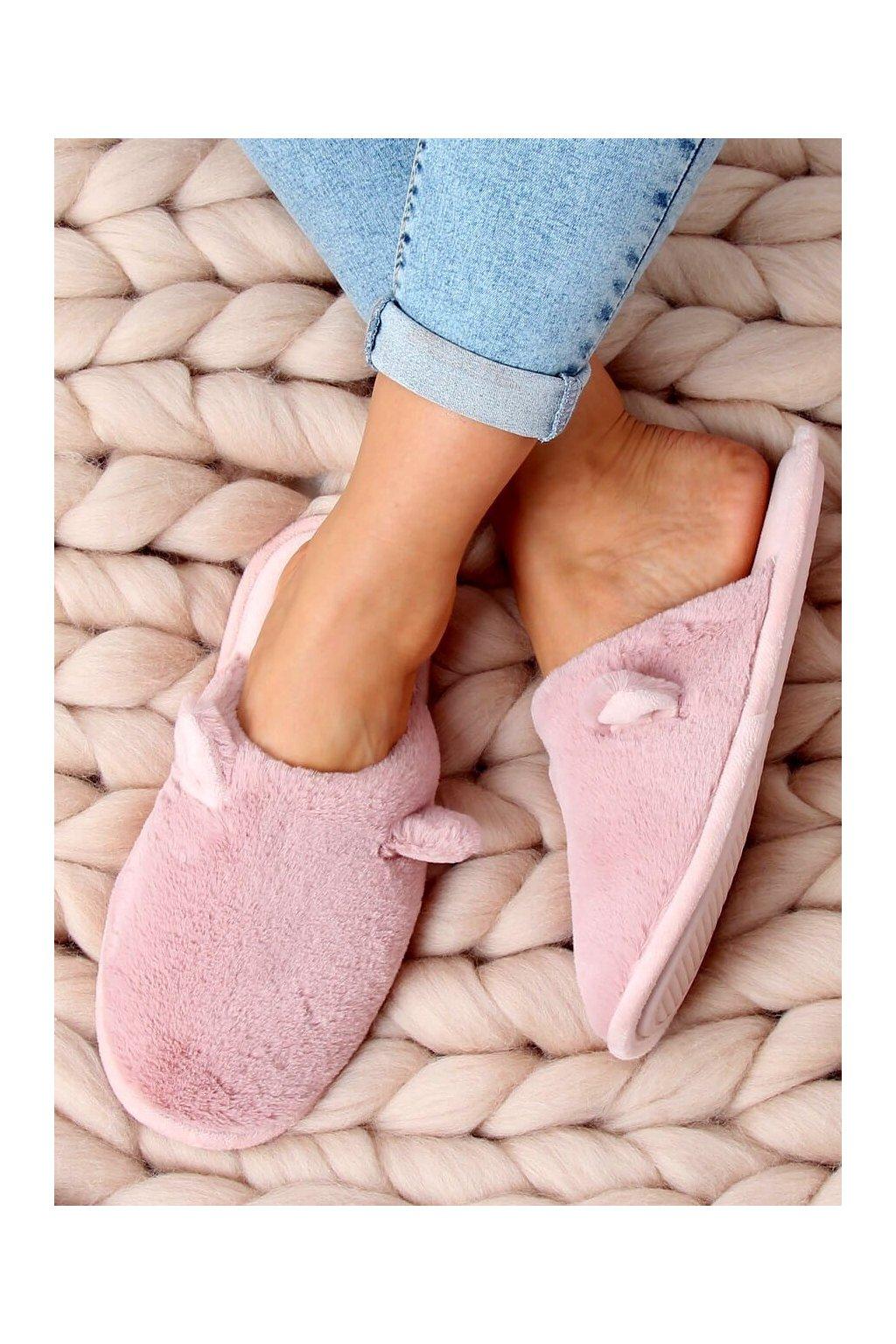 Damske ponožky ružové KP01