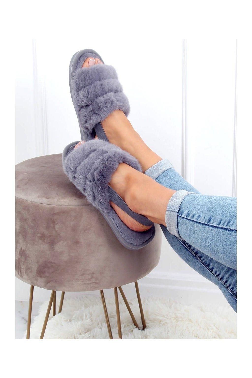 Damske ponožky sivé KL-16