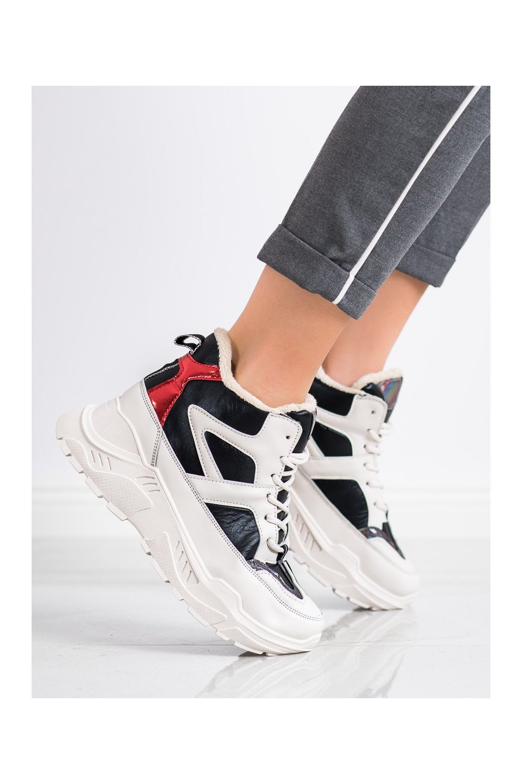 Biele dámske topánky Seastar kod LV95B