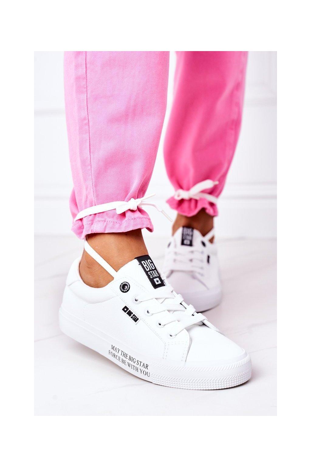 Dámske tenisky farba biela kód obuvi EE274316 WHITE
