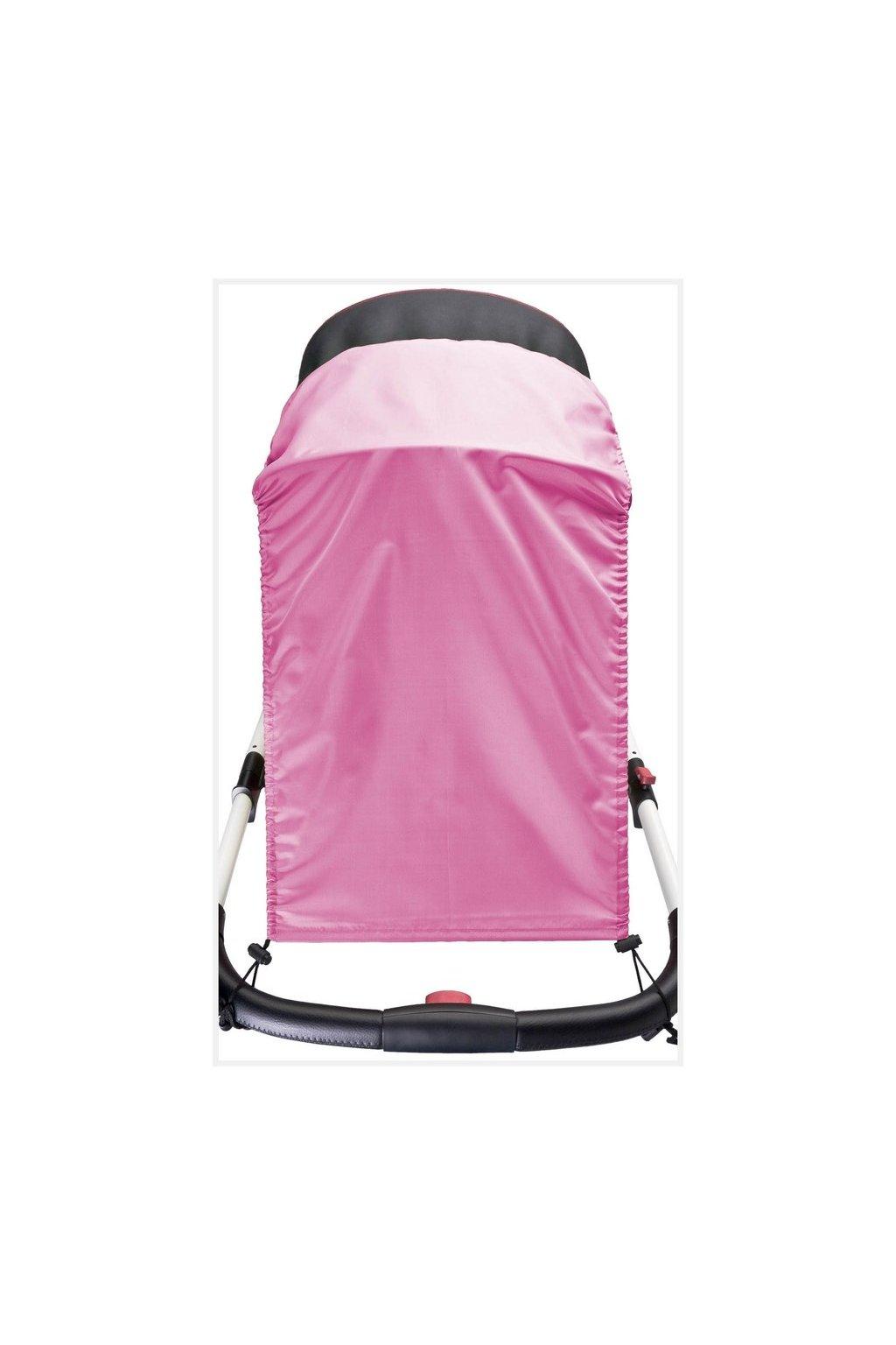 Slnečná clona na kočík CARETERO pink