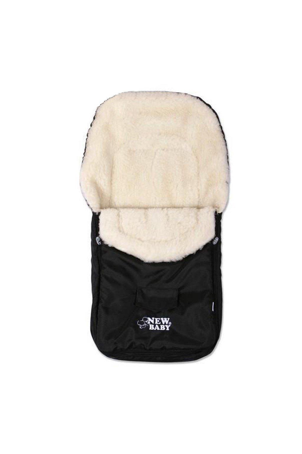 Zimný fusak New Baby Classic Wool black