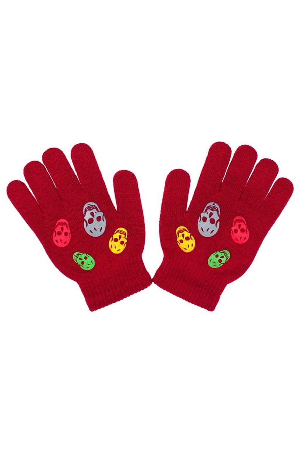Detské zimné rukavičky New Baby Girl červené
