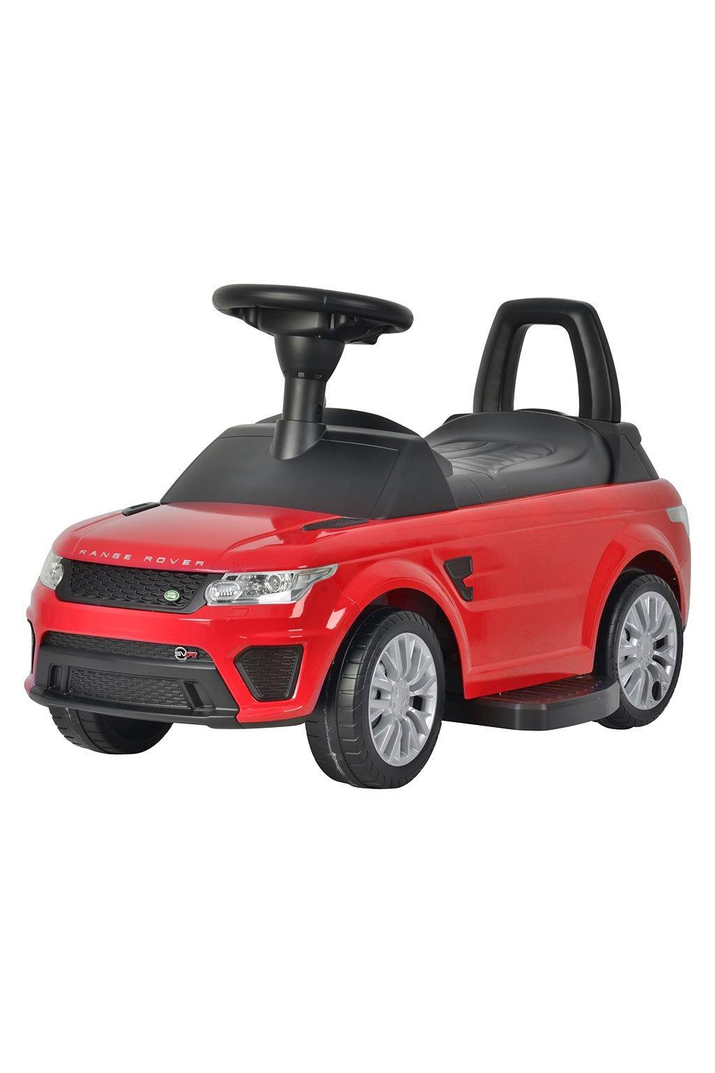 Elektrické autíčko-odrážadlo 2v1 BAYO Range Rover Sport SVR red