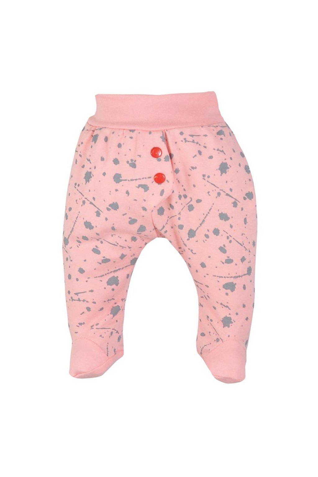 Dojčenské polodupačky Koala Hip-Hip ružové