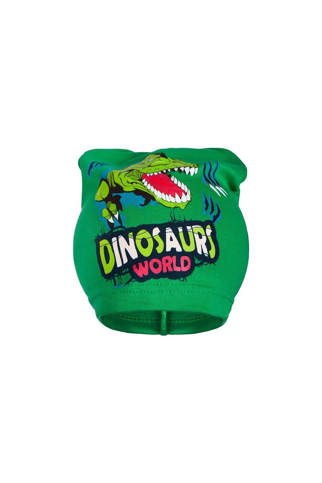 Jarná detská čiapočka New Baby dino zelená