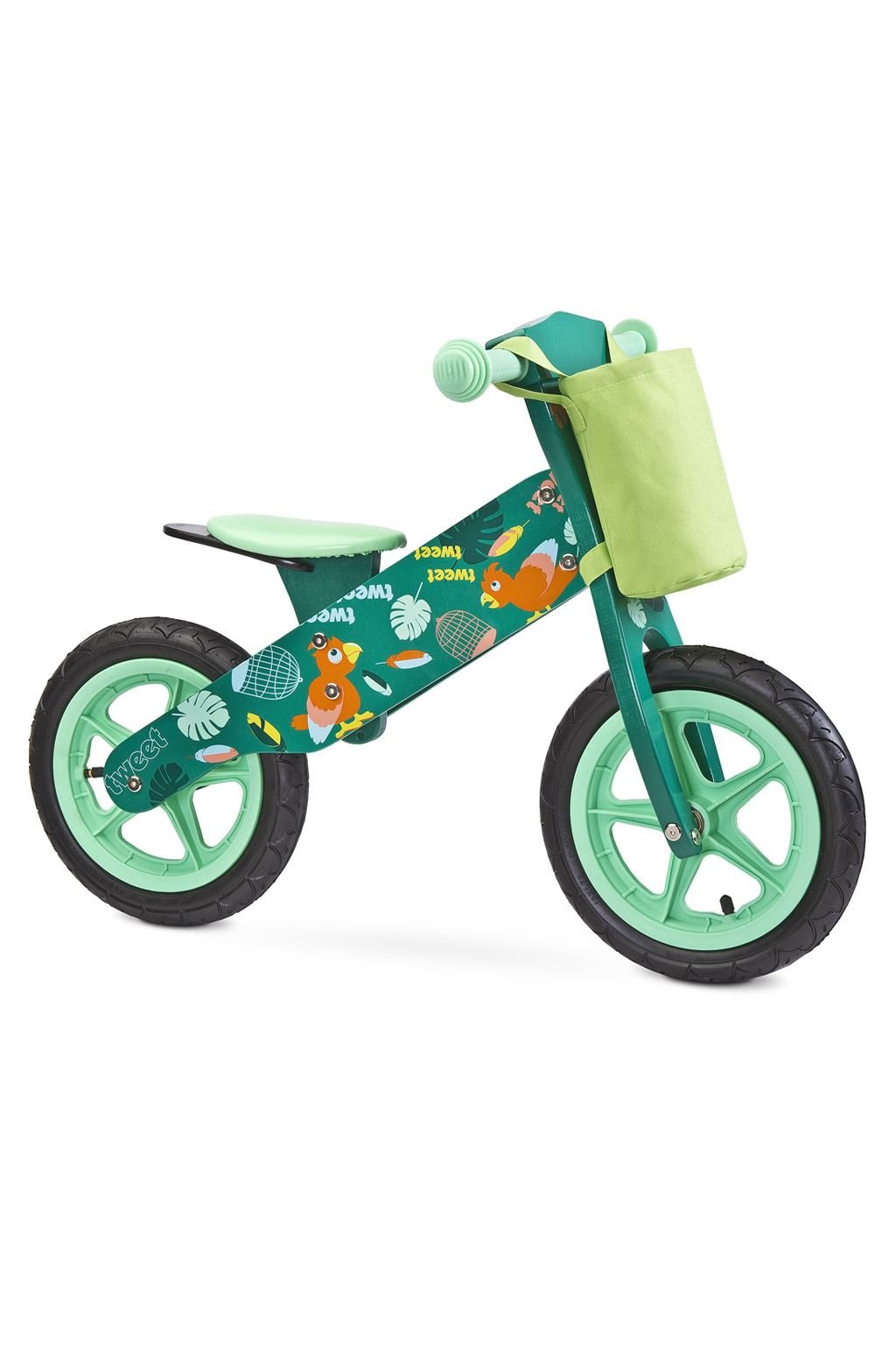 Detské odrážadlo bicykel Toyz Zap 2018 green