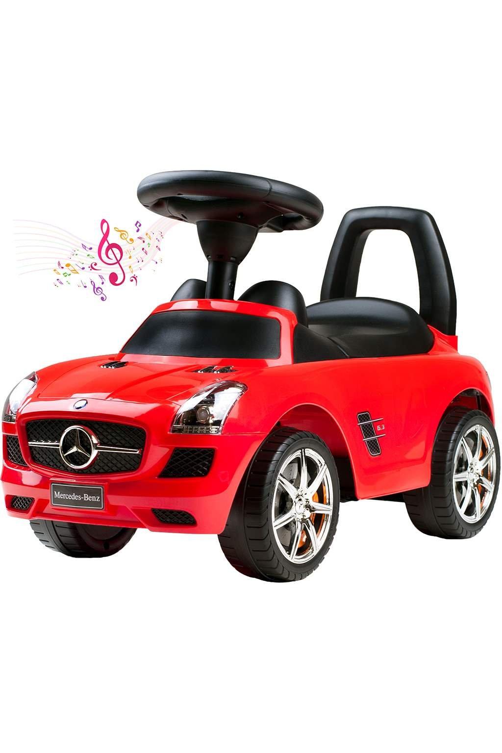 Detské jazdítko-odrážadlo Bayo Mercedes-Benz red