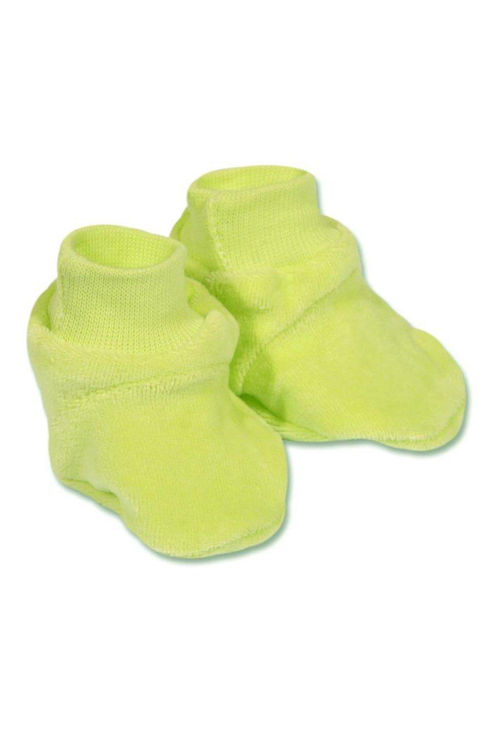 Detské papučky New Baby zelené