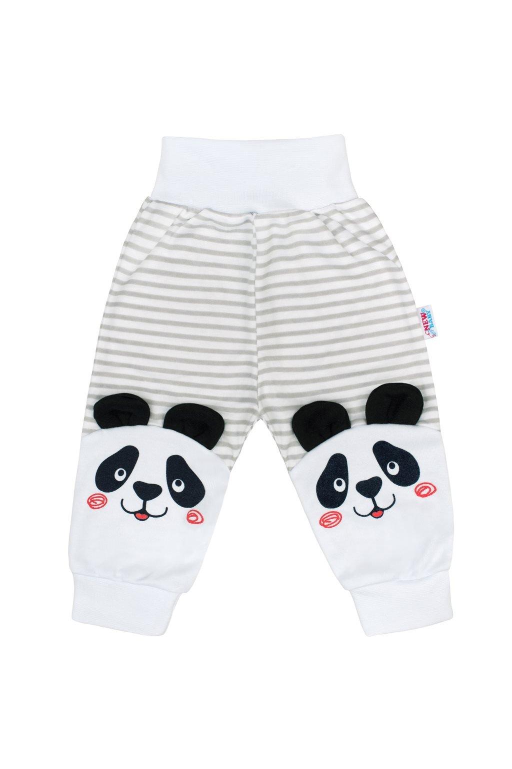 Dojčenské tepláčky New Baby Panda