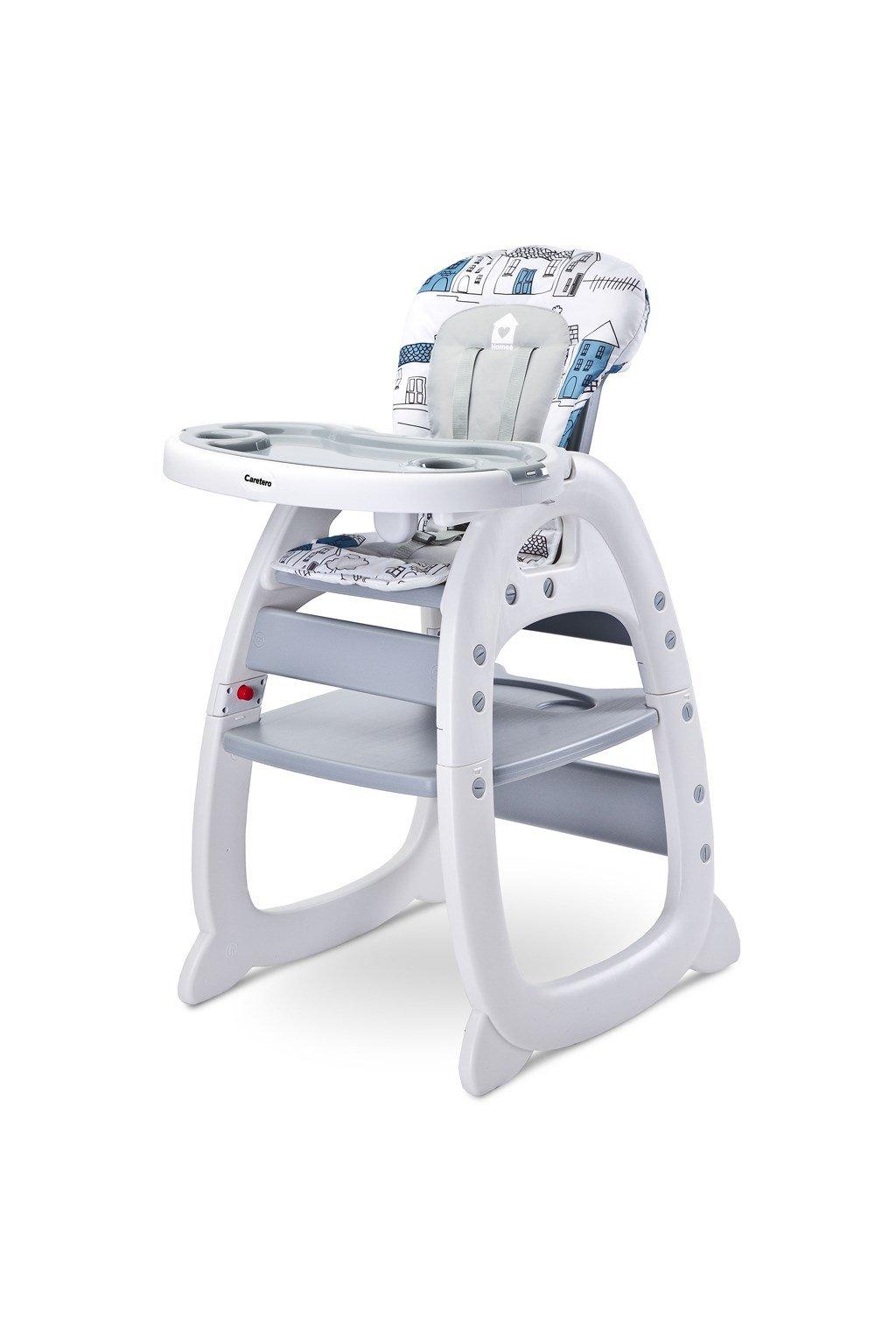 Jedálenská stolička CARETERO HOMEE grey