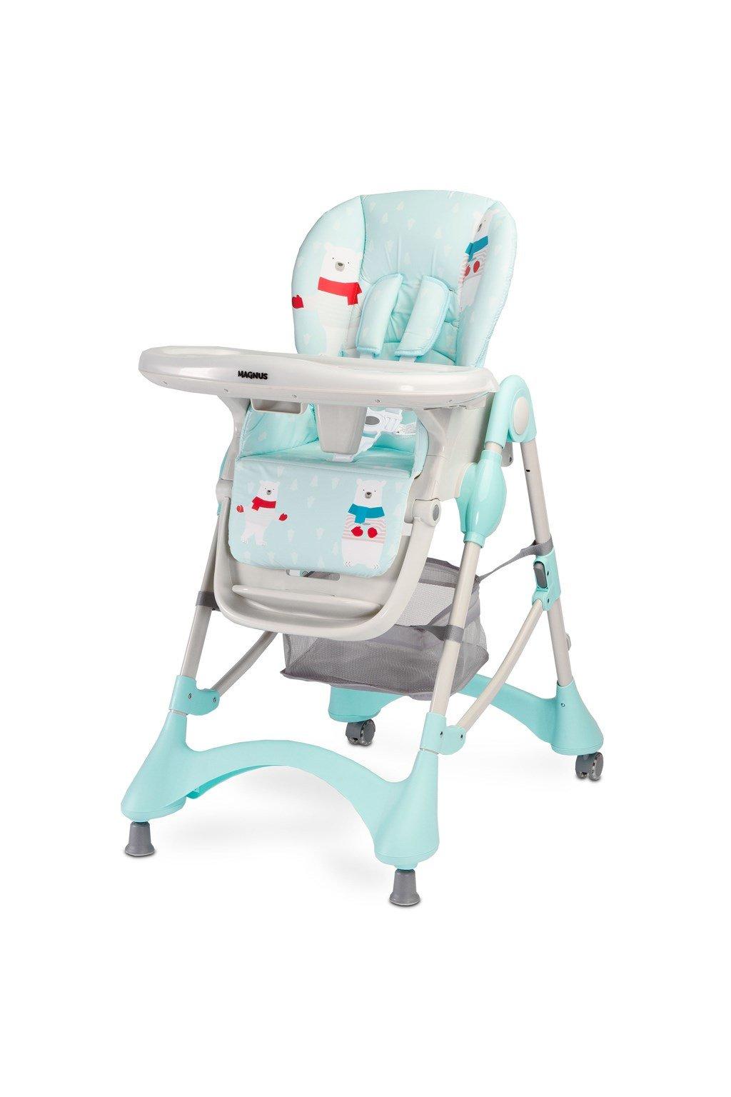 Jedálenská stolička CARETERO Magnus New mint