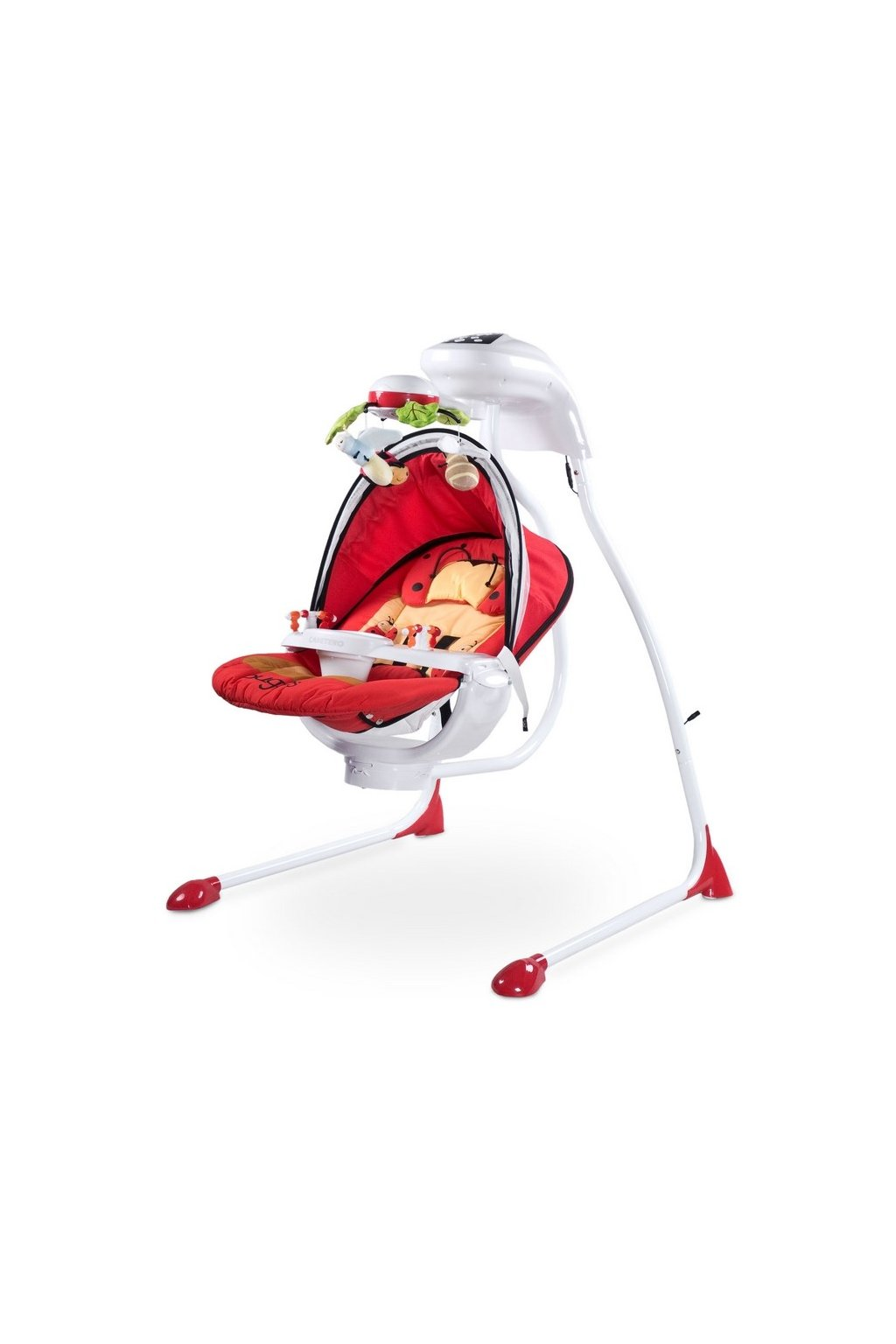 Detská hojdačka CARETERO Bugies red